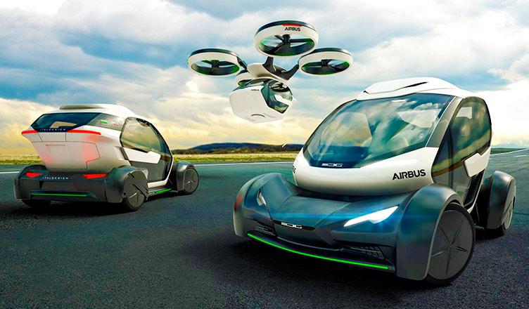Con este nuevo coche de Airbus podrás ir al trabajo volando