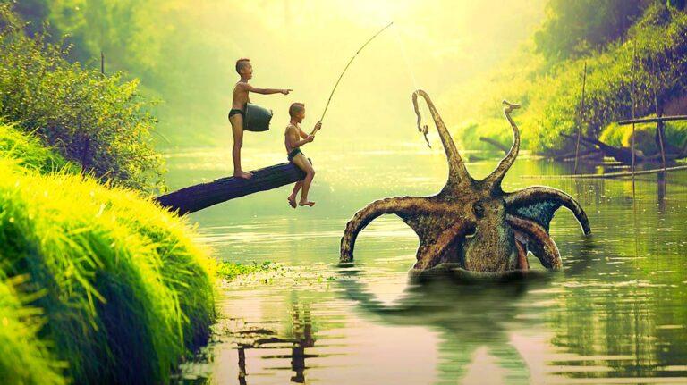El calamar gigante que inspiró la historia del Kraken