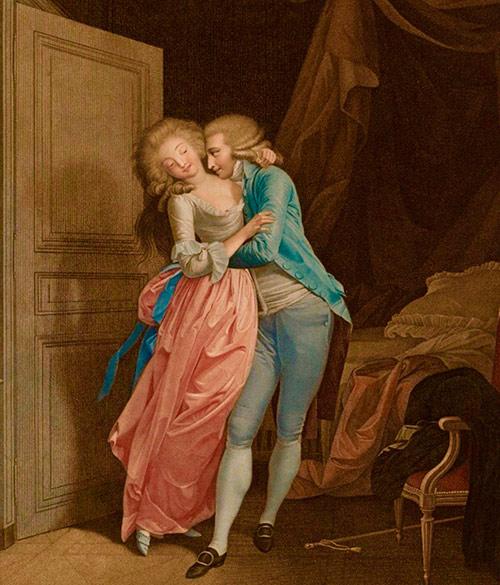 amantes del siglo XVIII