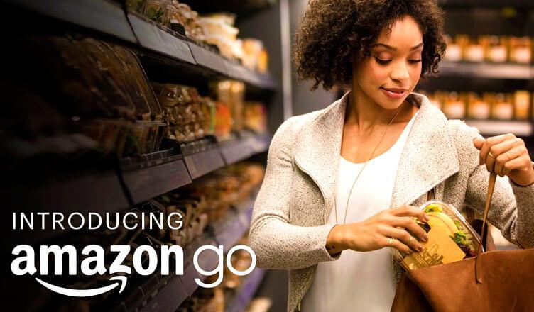 Amazon Go: supermercados de 4.000 m2 y solo 3 trabajores