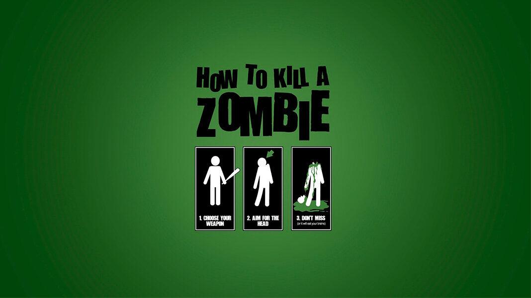 cómo matar a un zombie