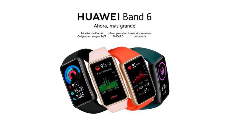 Huawei Band 6: estilo, comodidad y funcionalidad con calidad Huawei