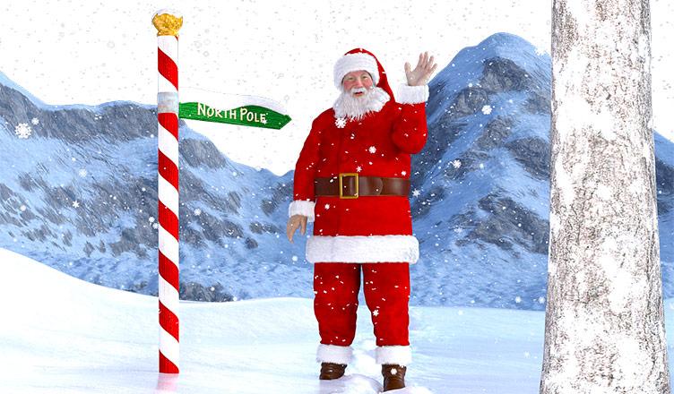 Papá Noel tiene su app para enviar mensajes personalizados.